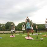 自然の恵みに感謝して…Yoga in the Park!!