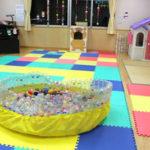 つくばみらい市谷和原第2保育所内にある「子育て支援室フラワー」