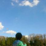 新春♪凧揚げ遊び