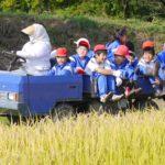 筑波大学農林技術センターで栗原小学校の収穫体験授業!