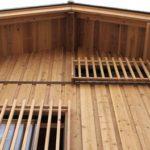 堂々たる木の家!板倉の集合住宅