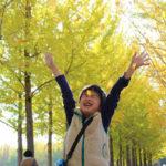 秋色に染まる!黄葉の科学万博記念公園