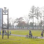 研究学園駅前公園をのんびりお散歩♪