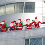 屋上サンタのクリスマス会♪