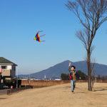 新春!のびのび凧揚げ