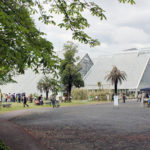 新緑の筑波実験植物園