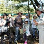 秋の筑波山で課外授業♪「キノコを探して雑木林フラフラ」