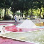 水遊びしよう♪松代公園くまさんプール