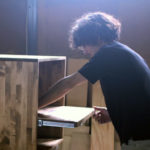 守谷の木工職人「ひとのす」岸本さんの工房を訪ねて