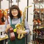 楽器のお医者さんのいるお店「ウインズ・ユー」で音楽の秋を♪