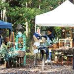 「家貨屋 kakaya」主催による森の中のマーケット―つくば市吉瀬―