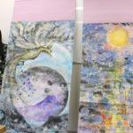 希望あふれるテーマを描く現代墨彩画家 堀川恵子さん