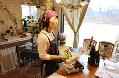 筑波山を望む料理教室「Cocconeの台所」