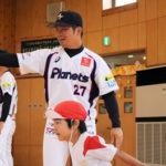 プロ野球選手がやって来た!「つくば白帆幼稚園」野球教室