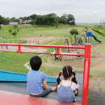 迫力ある滑り台が魅力♪「みらい平さくら公園」