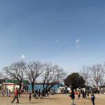 「2020年新春恒例凧揚げ大会」で凧揚げに挑戦!