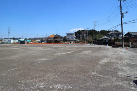 現在建設中のサッカー場