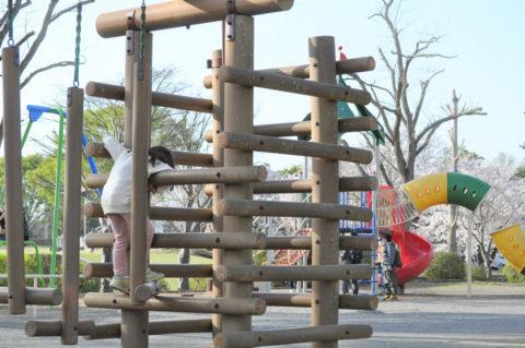 茎崎運動公園の遊具