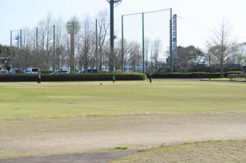 茎崎運動公園の芝生広場