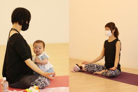 赤ちゃんとママのためのヨガレッスン