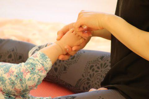 赤ちゃんとの時間