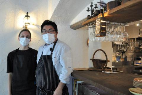 大学時代にイタリアレストランでアルバイトをしたことがきっかけで、イタリア料理に興味をもったというオーナーシェフの川村さん