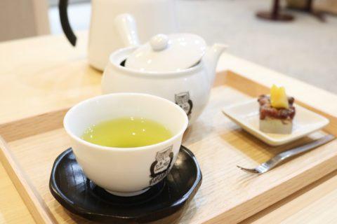 ぜひ一度飲んでもらいたい八木さんの淹れる温かい煎茶