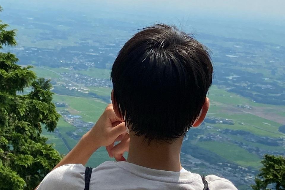 筑波山男体山の山頂
