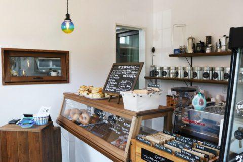 まるで北欧の田舎町にあるカフェのよう