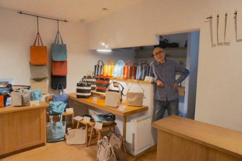 須田帆布の創業者である、須田栄一さんにお話を伺いました