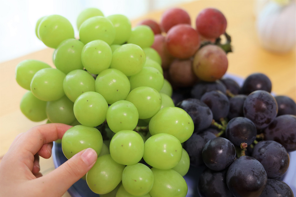 並んででも買いたい!「飯田ぶどう園」のとびきりおいしい旬のフルーツ♪