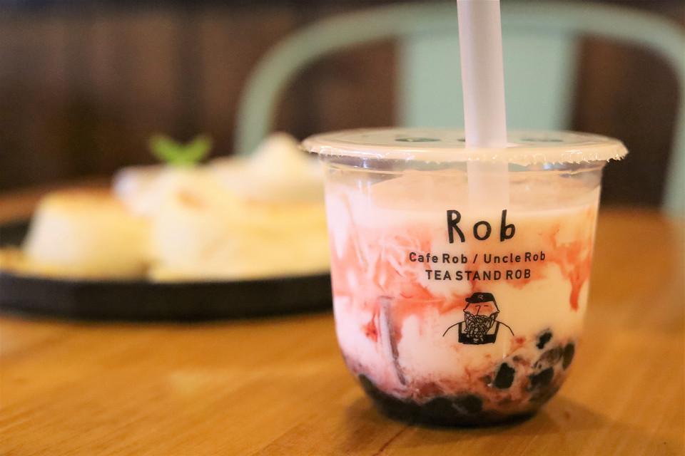 心躍るうっとりスイーツ♡ふわしゅわ台湾パンケーキと黒糖タピオカのお店「caféRobつくば店」
